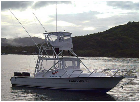 Fishing riu guanacaste costa rica the angelica v for Fishing guanacaste costa rica
